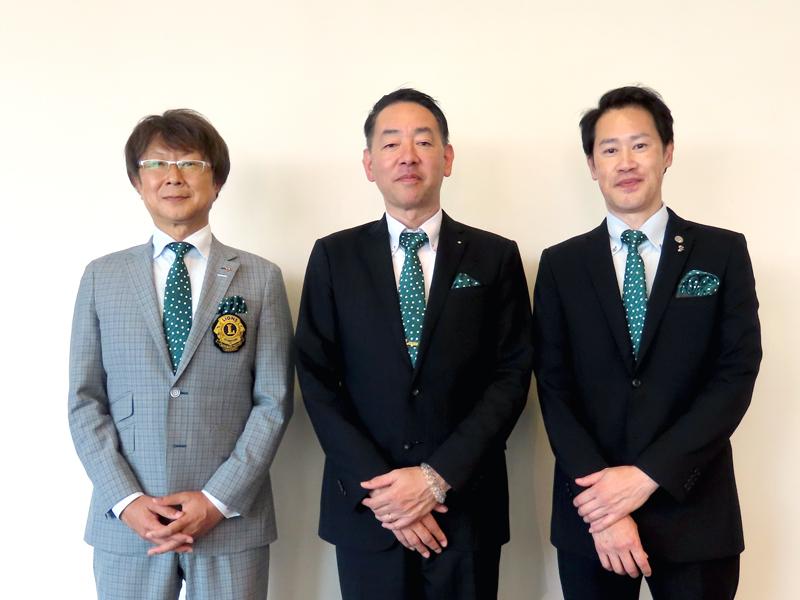 会計・内 城 千 里  会長・金 山 昌 弘  幹事・片 山 寛 之